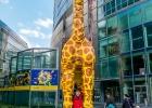 Giraffe am Potsdamer Platz