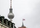 Berliner Fernsehturm aus der Ferne