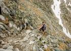 Clarence ist Patrick immer auf den Fersen, da gings mal etwas runter auf dem Weg Bergauf