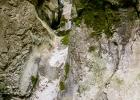 ausgewaschener Fels