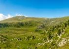 Panoramablick hinüber zum Fuchskogel, dort kommen wir heute auch vorbei