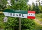 Wanderweg 587 zur Brendlhütte