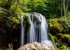 Wasserfälle beim Einstieg