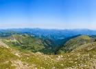 Panorama vom Seckauer Zinken Richtung Norden