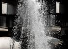 Springbrunnen in der Einkaufsstraße