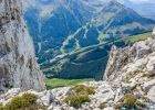 Blick hinunter zum Grüblsee