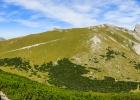 Panorama Richtung Norden vom Gipfel der Leobner Mauer