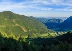Panorama Richtung Osten am Knappensteig