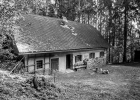 old house in B&W