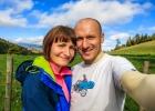 Melanie und ich am Hagensattel
