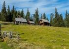 Hütte knapp oberhalb der Waldheimhütte