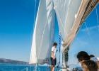 Segelturn mit Cres Sail
