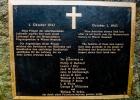 Gedenktafel an der Absturzstelle