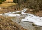 noch etwas Eis & Schnee am Mixnitzbach