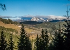 Ausblick ins Gebirge