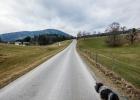 die letzten 2 km zum Auto auf Asphalt