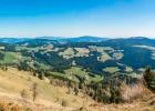 Panorama Richtung Osten vom Bründlkogel