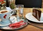 erste Pause beim Cafe Niederl in Passail