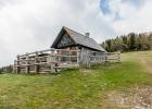 Hütte auf der Ochsenhaltalm