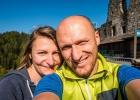 Selfie auf der Burg Landskron