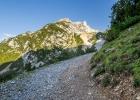 der Weg in die Berge