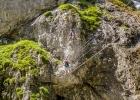 Seilbrücke Klettersteig