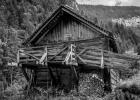 Hütte bei der vorderen Holzmeisteralm