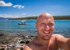 Selfie vom Kuh-Strand