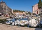 Hafen von Veli Losinj - alles dicht gedrängt