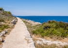 Weg entlang der Küste bei Veli Losinj