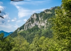 Blick auf den Kletterfels von Röthelstein (ua. Elfengarten, Postlerweg)