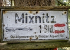 Ab hier gehts hinunter nach Mixnitz, für uns zum Bahnhof