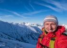 Endlicht mehr Schnee auf einer Wanderung auf den Polster