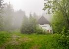 alter Schöckl Nordlift im Nebel