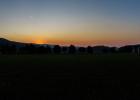 Sonnenaufgang beim Stift Rein 06:11 Uhr