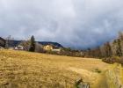dunkle Wolken beim Start in St. Radegund