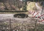 da isn Loch in der Straße .... ?!