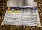 Infotafel Kneipp-Meditationsweg