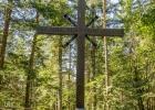 zum Gipfelkreuz des Grauen Stein (1.072)