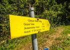 Wegweiser - Wanderweg 13