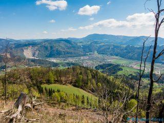 Ausblick vom Schartnerkogel
