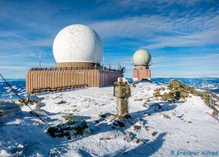 Radarkuppeln auf der Koralpe