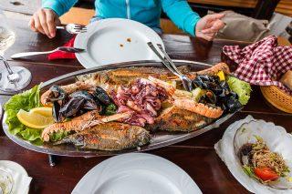 leckere Fischplatte