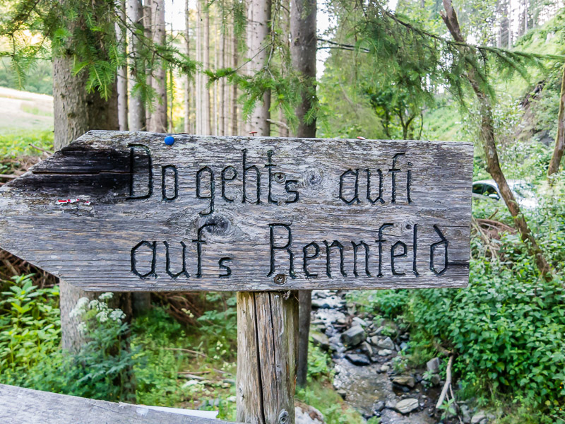 Rennfeld